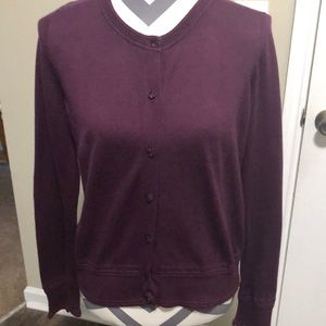 Banana Republic Sweater Cardigan button down SZ M